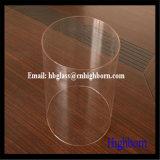 Transparenter grosser Durchmesser fixiertes Quarzglas-Rohr