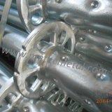 Standard galvanizzato di Ringlock del TUFFO caldo per l'armatura