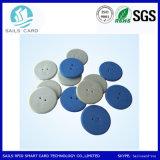 의복 관리를 위한 세탁물 아BS RFID 동전 꼬리표