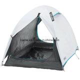 A forma é barraca de acampamento conveniente de 2 pessoas - branco