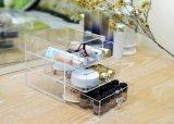 Popular diseño exclusivo de maquillaje de acrílico con cajón organizador