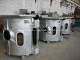 350kg 녹는 철 및 강철을%s 알루미늄 쉘 유도 전기로