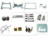 Betätigendes Aluminiumscharnier, das Teile stempelt
