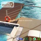 Цена для пластичного составного напольного анти- Decking плавательного бассеина WPC выскальзования