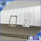 Referenties van het Staal van het Metaal van de Gift van Promotinal van de douane de Zilver Met een laag bedekte voor Boek met Uw Embleem