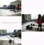 Лопаткоулавливатель снегоочистителя колеса руки металла OEM, котор регулируемый катят