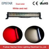 Blanc/Rouge 120W 21.5pouces barre lumineuse à LED pour camion 4X4 (GT31001-120)