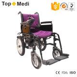 Силы привода колес сбывания 4 медицинского оборудования кресло-коляска горячей электрическая для с ограниченными возможностями