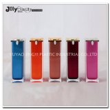 50ml Red Opaque PP Cosmetic Airless Pump Bottle