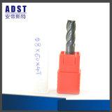 4 Flöte-Hartmetall-Prägescherblock für CNC-Maschinen-Teile