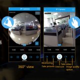 Camera 3D Vr van de Bol van het Panorama van WiFi Fisheye van de Camera van kabeltelevisie HD de Slimme IP