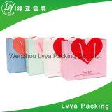 Ofício feito-à-medida da marca da fábrica sacos de compra Foldable cosméticos do papel de embalagem
