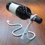 Kreatives Zubehör-magisches MetallTabletop Flaschen-Bildschirmanzeige-Wein-Zahnstangen-Halter