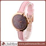 Fashion Lady montre-bracelet en acier inoxydable avec cadran coloré