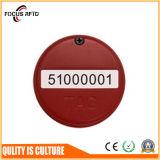 Sistema de rastreamento de ativos de etiqueta de ativo de RFID com Sensor de Temperatura