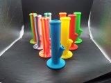 실리콘 Downsterm를 가진 실리콘 물 연기가 나는 관 유리제 Hookah 및 유리 그릇