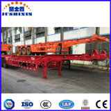 De 3 essieux de conteneur de transport remorque semi sur la promotion