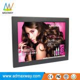 El plástico MP3 MP4 Vídeo de bucle de 12 pulgadas Digital Photo Frame con la batería (MW-1207DPF)