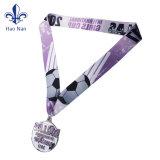 Verschiedene Entwürfe kundenspezifische Sport-Medaille, Medaillen-Farbband für Andenken