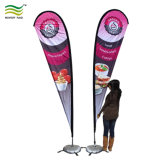 Caso Trade Show Arvorando Swooper Beach Feather Bow Rectângulo Mochila Lágrima Banner bandeira