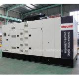 80kVA 64kw Genset angeschalten durch Shanghai-Dieselmotor-super leisen Generator