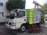 Spazzatrice di via del camion 4m3 di pulizia della strada di Dongfeng