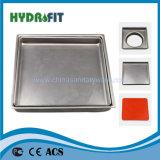 Acero inoxidable del dren de suelo (FD2102)
