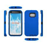 3 в 1 кобуры раковины печатание сублимации случае сотового телефона Protecitive трудной комбинированном с зажимом пояса для галактики S6 Samsung