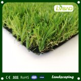 Suelos de exterior de 40 mm de paisaje de hierba artificial de PE