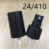 Pulverizador névoa preta fosca 24/410/pulverizador de perfume de plástico