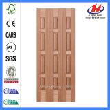 큰 문 목제 단단한 나무로 되는 문틀 접게된 문 목제 베니어 문