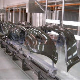 Riga di rivestimento automatica delle parti di automobile linea di produzione della pittura dell'automobile per le parti automobilistiche
