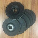 Almofadas abrasivas do revestimento protetor da fibra de vidro para a roda de moedura (T27-117*22-8L-1R)