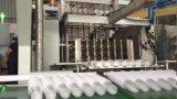 Equipamento plástico de Thermoformer do copo com empilhador de vidro
