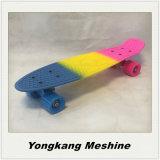 Heißes verkaufen22 Farben-Plastikkreuzer-Skateboard des Zoll-3