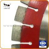 빨간색 좋은 품질 다이아몬드는 화강암을%s 톱날을