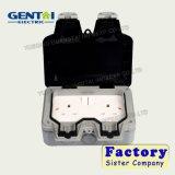 La buena calidad IP66 13A impermeabiliza los enchufes de socket con la lámpara del botón