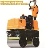 単一のドラム道ローラー機械0.5トンの小型道ローラー