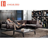 現代的な家具の現代革ソファーセット