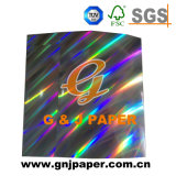 Design personnalisé pour l'emballage carton holographique transparent
