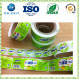 2018 Custom Colourful Self Adhesive label for Food of container (jp-sticker003)