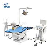 Equipo dental de lujo de la silla de la fabricación de fábrica de la fuente dental caliente del precio