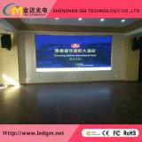 Publicidade interior display LED de cor total da placa do painel da tela (P2.5&P3&P3.91&P4&P4.81&P5&P6 Módulo de LED)