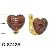 Nuovo commercio all'ingrosso della fabbrica degli orecchini dei monili dell'argento di disegno