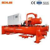 Industrieller wassergekühlter Schrauben-Wasser-Kühler