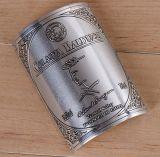 Geprägte Metallmarke/Metallflaschen-Kennsatz
