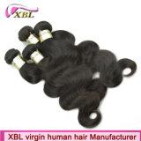 Xbl de gros de l'usine Grade 10un cheveu humain brésilien brutes