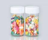 Бутылка малой ясной миниой причудливый конфеты просто конструкции пластичная для конфеты, контейнера шоколада