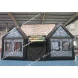 Big Pub gonflable, 10*6*6 Bar gonflable personnalisé Inn, Portable Déposer Inflatable House, Irish Pub