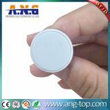 Белая бирка ногтя вала цвета RFID